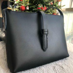 J Crew leather crossbody purse